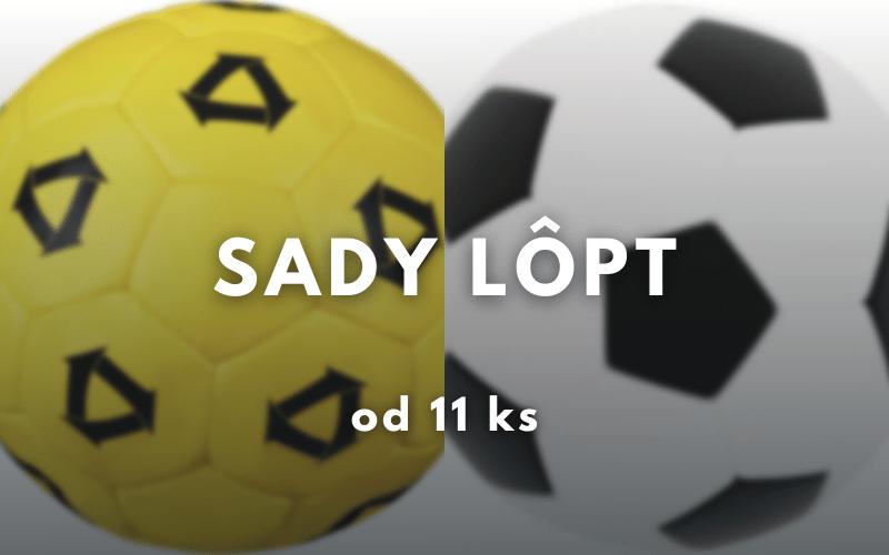 sady lopty